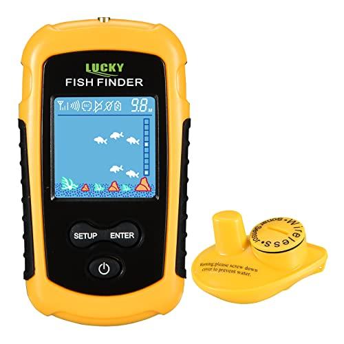 Fischfinder Wireless, tragbar, Echolot