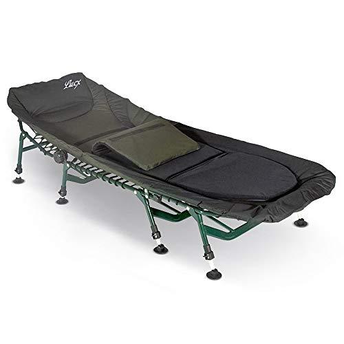 Lucx Bedchair Komfort Karpfenliege / 8 Beine